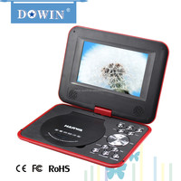 7 inch Cheapest Portable DVD/CD/VCD Player Mini Laptop with DVD Player