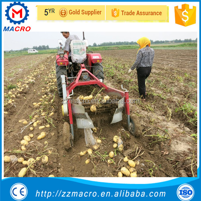 multifunctional potato harvesting machine mini carrot harvester