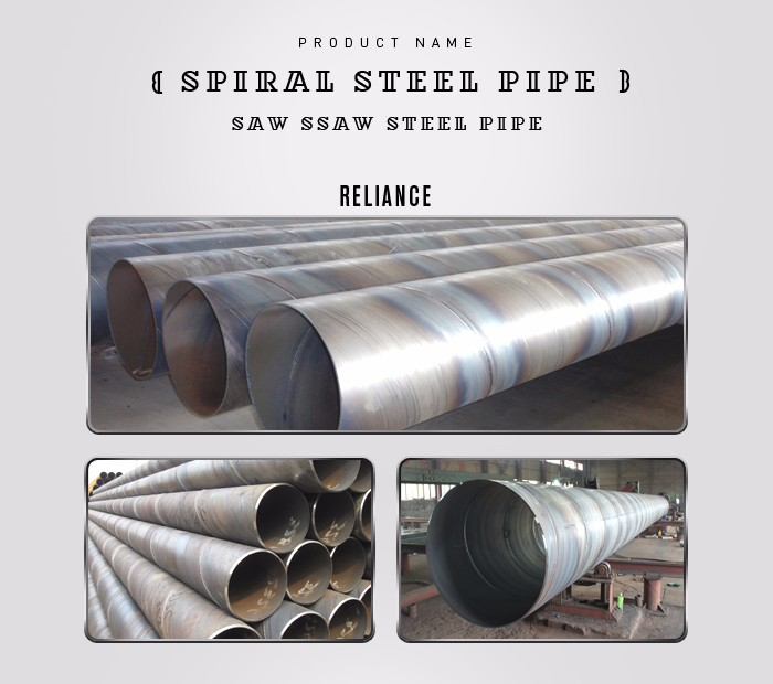 Steel round pipe double wall spiral buy