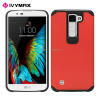 IVYMAX accessories hybrid combo covers for LG k8/k350 shockproof mobile phone case
