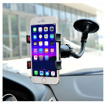 Wholesale Plastic Flexible Car Sucker 360 Angle Rotation Wall Mount Mobile Cell Phone Holder
