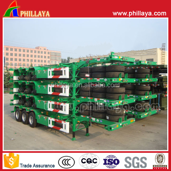 Skeleton Container Semi Trailer Chasis On Sale