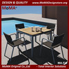 MA-F15 Leisure Outdoor Restaurant Furniture Teak Dining Table Designs