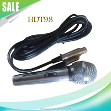 High Quality Wired Dynamic Microphone HDT98-1 Handheld Microphone Portable Karaoke