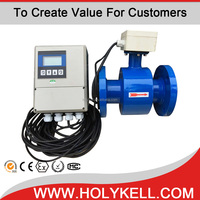 ISO Remote Type Insertion Liquid Magnetic Water Flow Meter Price 4800E