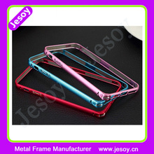 JESOY Mobile Phone Case Aluminium Metal frame Bumper For Samsung Galaxy Note 3 4 5