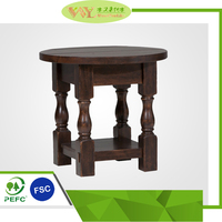 High Quality Used Wooden Corner Table