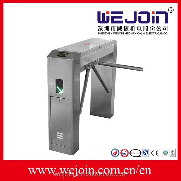 DC12 V Stainless steel fingerprint Time Attendance for Access control gate