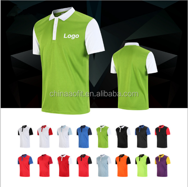China Supplier Athletic Men's Basic Top Polo Shirt / Men's T-Shirt