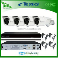 Bessky 4ch IP Camera Security NVR System ip camera wireless wifi, ds-2cd2732f-i BE-6004SLIPWD200Z
