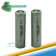 ICR 18650 3000mAh 3.7V Li-ion Rechargeable Battery for LED Flashlight /Torch