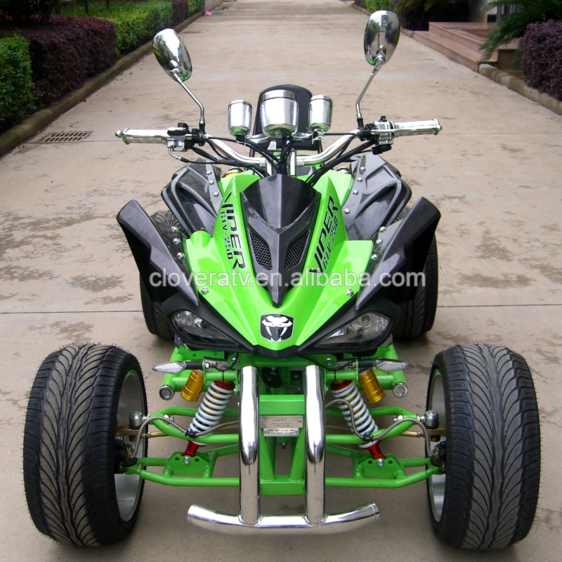 4 Wheel Petrol Powerful SPY Kawasaki EEC 350CC ATV Quad