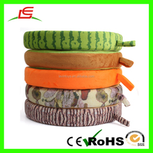 Hot Sale Sublimation Printing Simulation Plush Fruit Pillow For Household Products