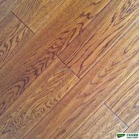Prefinished white Oak handscraped and distressed engineered hardwood flooring plank
