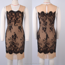 pictures of latest gowns designs elegant mature ladies chiffon and lace dress