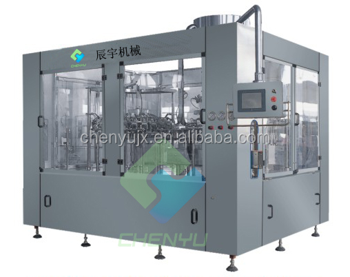 Hot Apple Juice Filling Plant / Bottling Machine
