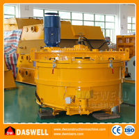 Dawell best selling pan portable powerful auto cement planetary concrete mixer