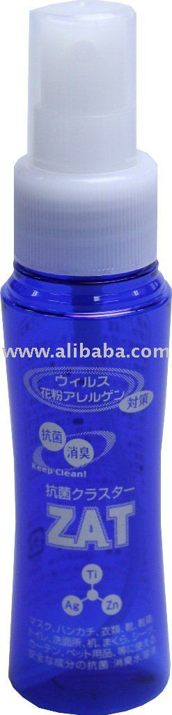 "Antibacterial agents ""CLUSTER ZAT 50ml"" made in Japan"