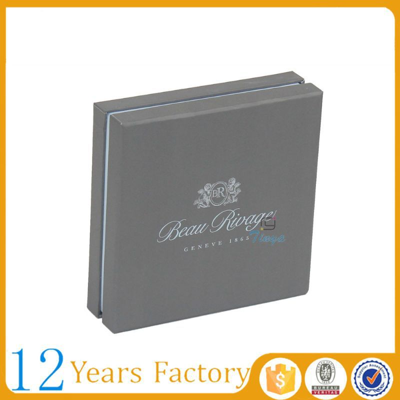 Luxury cardboard gift belt packaging box
