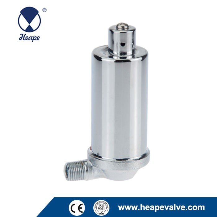 HEAPE 1/8 Angle Radiator Air Vent Valve