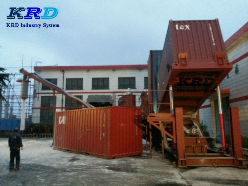 hydraulic Container unloading