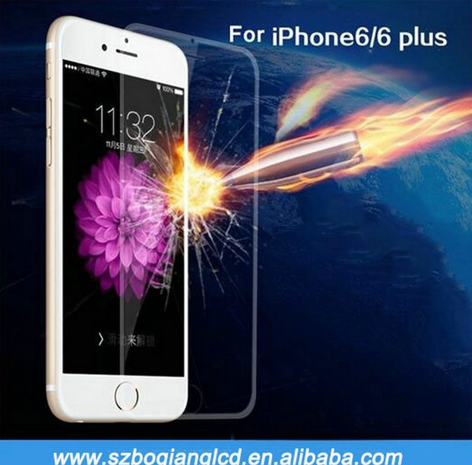 factory price good quality mobile phones used tempered glasses for iphone 6