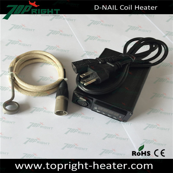e nail controller box vapor kit DIY heat coil e-nail 120V 150W 10mm 16mm 18m 20mm enail temperature control box with heating coi