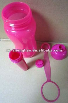 PETG Disposable Plastic Water Bottle with Color Changed Design Zhenghao Plastic