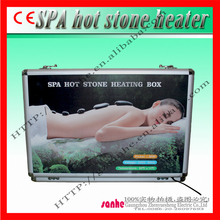 hot stone massage machine with 16 hot stone massage set