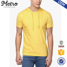 China Supplier Clothing Custom Most Popular Yellow Color T Shirts