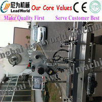 label attaching machine for plastic bottles Custom adhesive sticker labels for plastic bottles