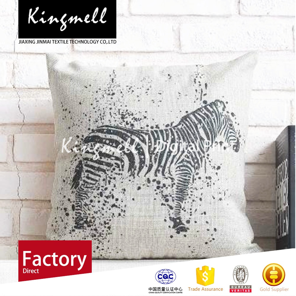 2015 Animal style pillows sofa cushion office waist pillow bed head back waist cotton pillowcase pillow with car cushion cover