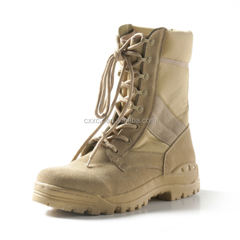 High Quality Army Used Military Boots Jungle Boots