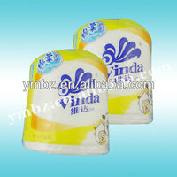 Disposable toilet paper plastic packaging material