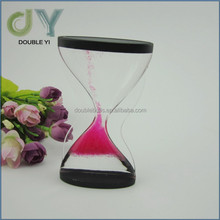 Acrylic S shaped sand timer , Liquid Motion Timer Toy