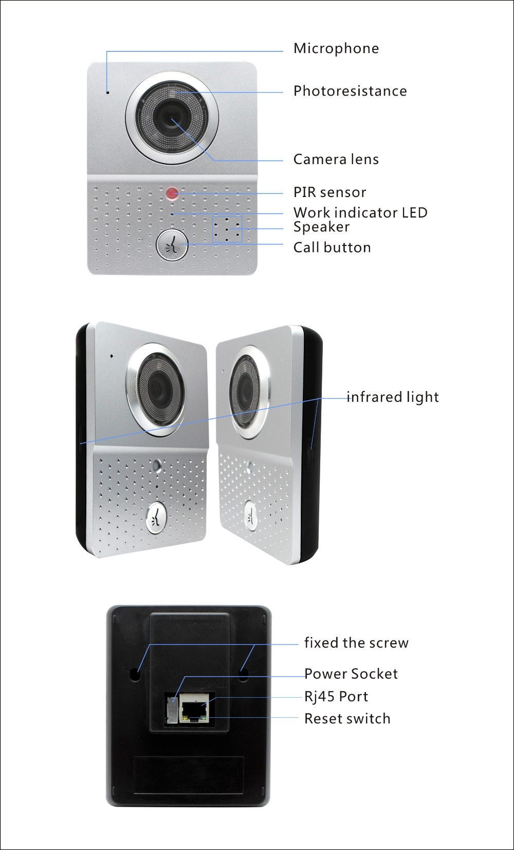 ACTOP High Quality wifi Ring Wifi Doorbell for Smart Home