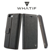WHATIF New Design For iPhone 6 Leather Case,Mobile Phone Accessories for iPhone X,Mobile Phone Accessories