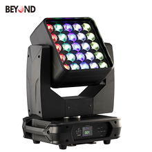 Disco lighting colour rgbw 4in1 matrix led 25x15 led moving head wash zoom