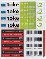 Nice Printing and Reasonable Price Lottery Ticket
