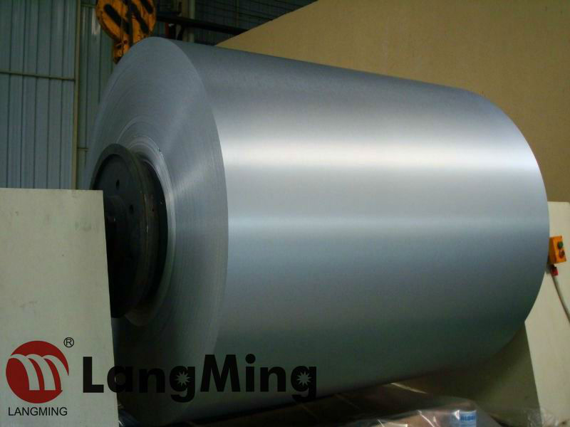 Color Coated Brushed aluminium coil & aluminium sheet with coating PE & PVDF