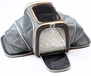 Airline Approved Expandable Soft Sided Foldable Pet Travel Carriers