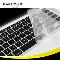 Precise laptop keyboard 13 15 inch full coverage silicone skin for Macbook pro