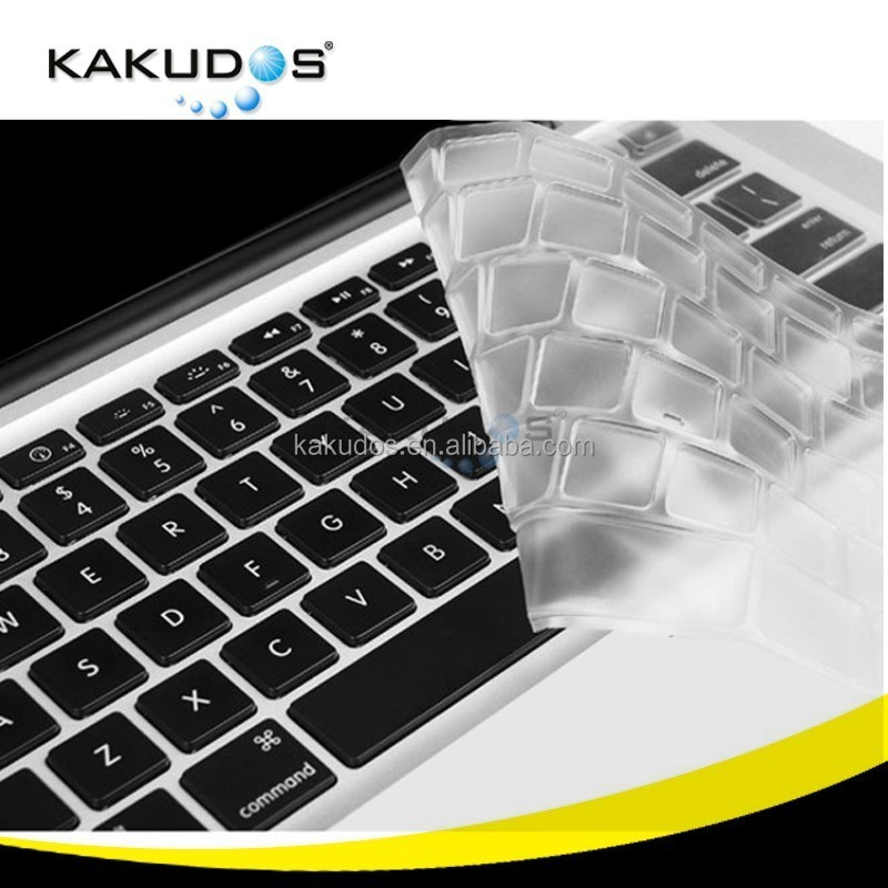Precise laptop keyboard silicone skin cover for Macbook pro 13 15 inch full coverage