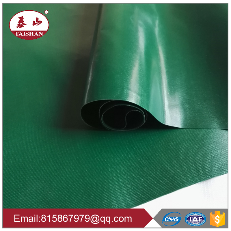 China factory 450gsm 0.38mm thickness PVC coated fabric tarpaulin PVC tarps roll
