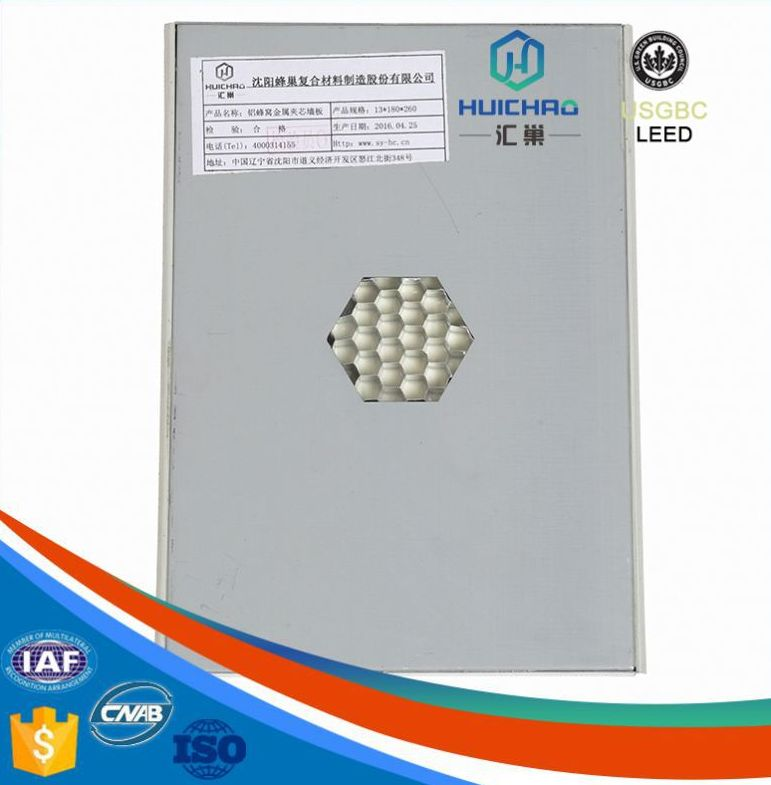 HC/Q Pro-environment replaceable aluminum honeycomb pvc panel for wall