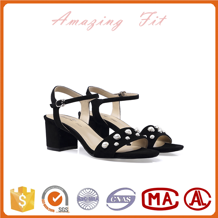 Summer new style ladies flat sandals shoes women beaded sandals