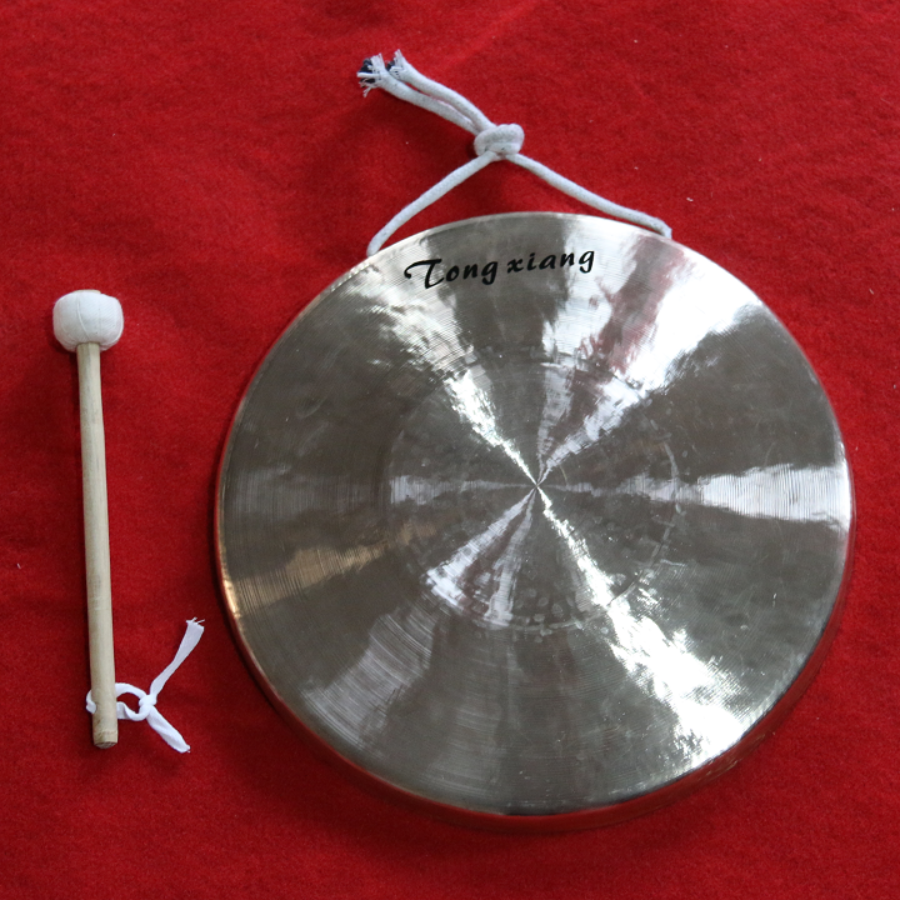Chinese 31cm hand gong, Percussion instrument