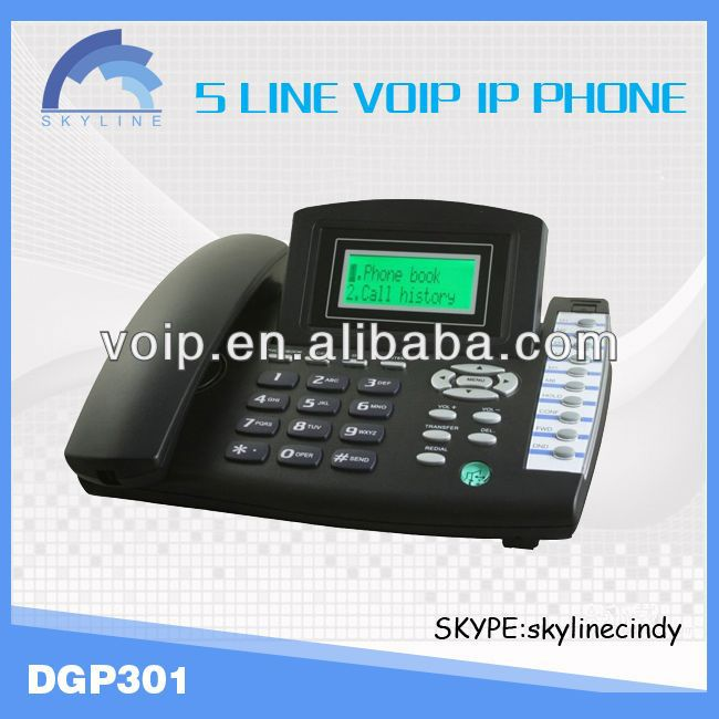 voip sip phone DGP301 desk voip phone ip phone solution