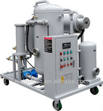ZL lubricant oil filtration system/ lube oil recycling machine
