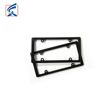 Black Custom License Plate Holder Wholesale Black Plastic License Plate Frame